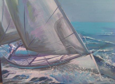 Lone sailor